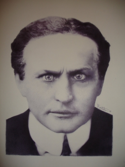 Harry Houdini por lordp0rnstar